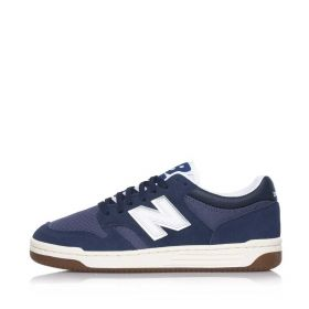 SCARPA UNISEX NEW BALANCE SNEAKERS NAVY WHITE SUEDE BB480 121