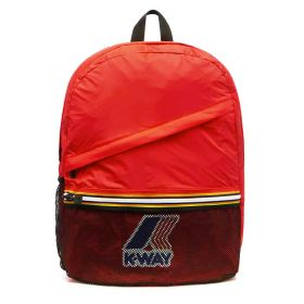 ZAINO UNISEX K-WAY BACKPACK LE VRAI 3.0 FRANCOIS K006X60 RED 120