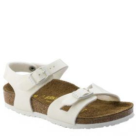 SANDALO BIRKENSTOCK RIO KIDS WHITE GALAXY ART 0831693
