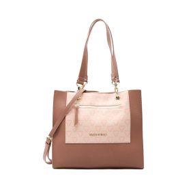 BORSA DONNA VALENTINO BAGS SHOPPING PATCH ROSA MULTI VBS5CN01 121