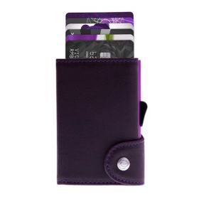 C-SECURE WALLET COIN POCKET CARDHOLDER LIMITED EDITIONS CARDINALE